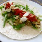 Recept: wrap met pesto en Italiaanse groenten